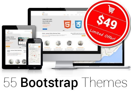 55 Responsive Html5 Templates With A Commercial License Just 49