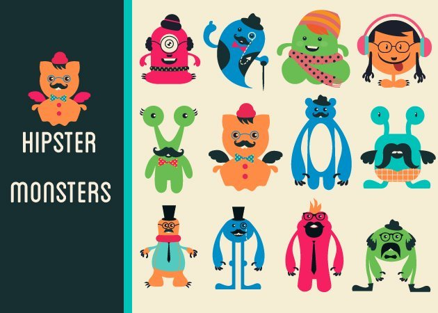 designtnt-vector-hipster-monster-small