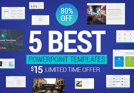 Get 5 best powerpoint templates for only 15 inkydeals get 5 best powerpoint templates toneelgroepblik Images