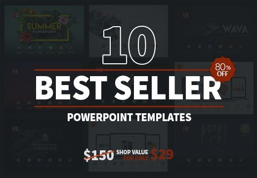 10 Best Seller Powerpoint Templates Only 29 Inkydeals