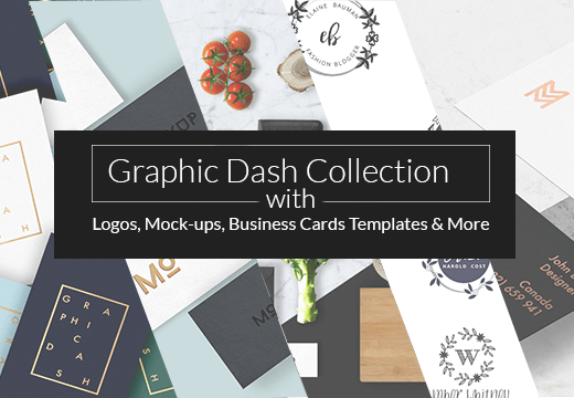 Graphic dash collection with logos mock ups business card graphic dash collection with logos mock ups business card templates more only 19 wajeb Images