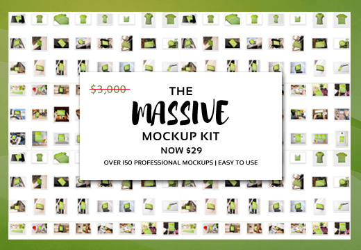 the massive mockup kit with 150 professional mockups only 29