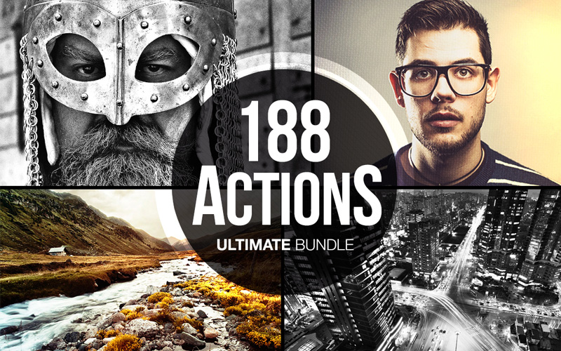 The 188 Photoshop Actions Ultimate Bundle
