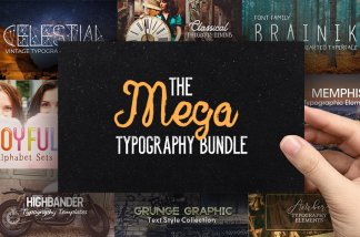 the mega typography bundle